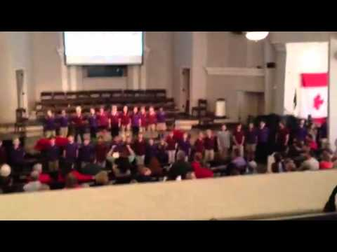 Cinco Baptist School Kids Christmas