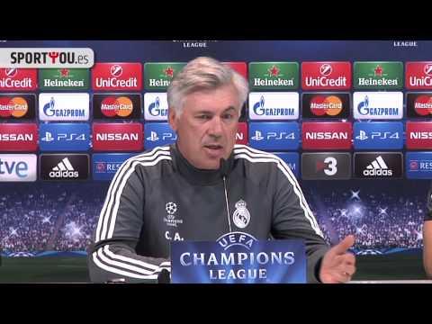 Ancelotti no quiere ni hablar de la portería