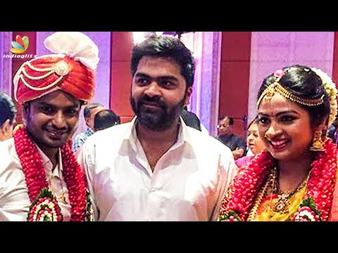Simbu at Friend Sarfrudin's Wedding | Hot Tamil Cinema News