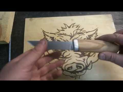 Нож из напильника простыми инструментами своими руками Часть 1