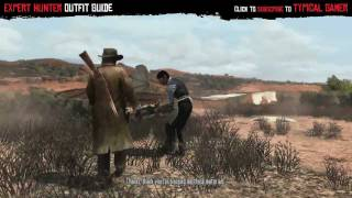 Red Dead Redemption - How to get Expert Hunter Outfit