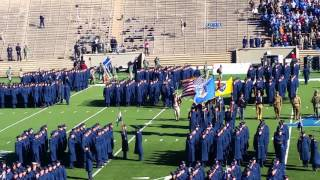 34 March On 34 National Anthem At 2015 Army Air Force