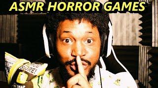 Asmr horror game..