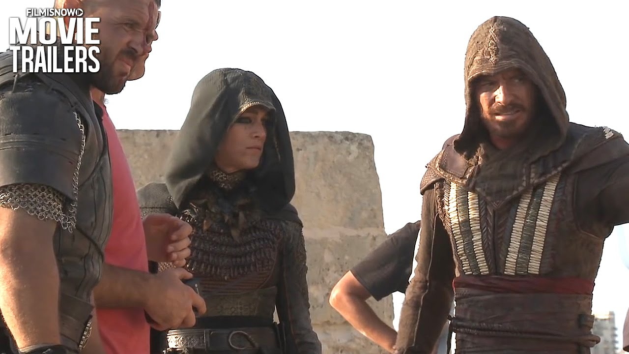 ASSASSIN'S CREED Go back into time with Michael Fassbender!