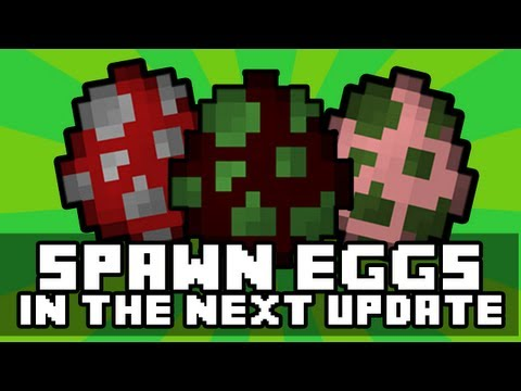 Minecraft Xbox 360 - SPAWN EGGS CONFIRMED in TU9 / 1.1 Update (Next Update!)