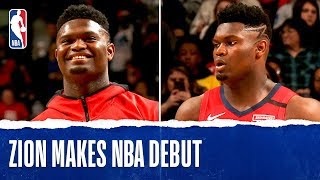 Zion Williamson Makes NBA Debut!!