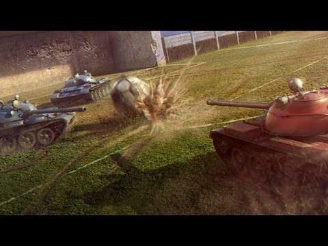 Gramy w piłkę w World of Tanks