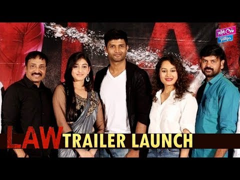 Law Movie Trailer Launch Press Meet | Latest Telugu Movies 2018 | Tollywood | YOYO Cine Talkies
