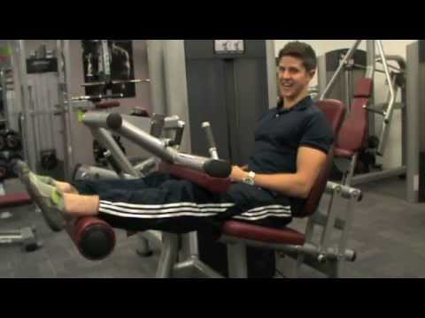 How To: Seated Leg Curl (Life Fitness Machine) Image 1