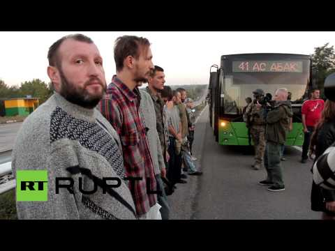 'All for All': Kiev, Donetsk militia swap prisoners in E. Ukraine