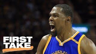 Stephen A. Declares Kevin Durant Deserves Credit For Warriors