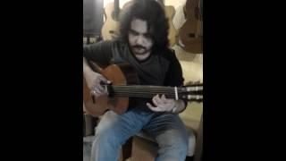 Turkish Fretless Classical Guitar by D.fırat kaya -Perdesiz Gitar