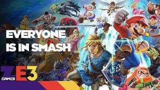 EVERYONE IS IN SMASH. New Fire Emblem! - Nintendo Direct E3 Recap