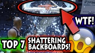 Top Breaking Backboard Moments in Basketball History (NBA)