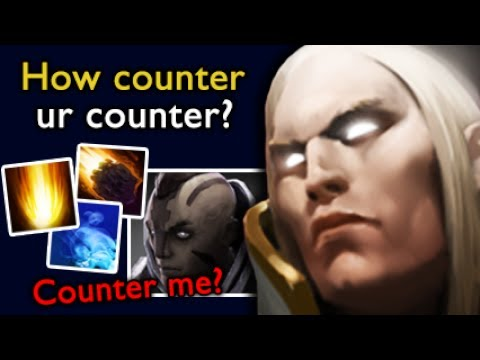 Sumiya: How to COUNTER your COUNTER - The Best Invoker in world Dota 2, 7.06e Gameplay