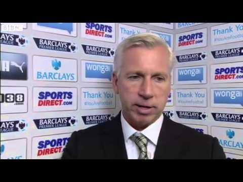 Newcastle vs Fulham 1-0 - Alan Pardew (31-08-13)