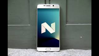 Android Nougat 7.1.1 - Samsung Galaxy Note 5 [QUICK LOOK]