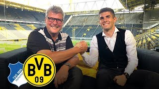 """Raring to go!"" - Christian Pulisic in BVB Matchday Magazine 