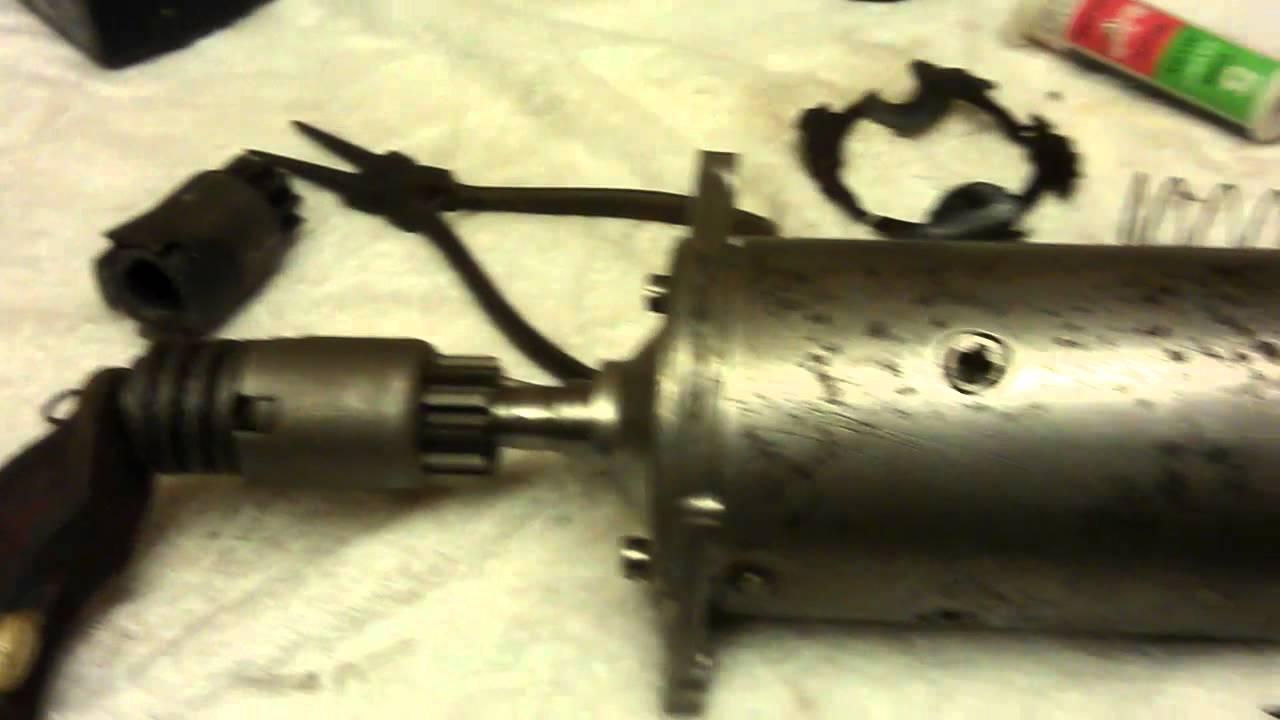 Starter motor repair youtube for Motor vehicle repair license
