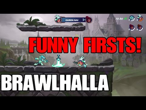 Brawlhalla 2v2 First Time Playing!