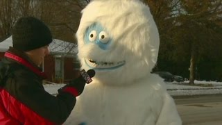 Ridiculist: Snow monster scares Anderson