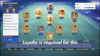 *CHEAP* FUTURE STARS CHALLENGE SBC FIFA 19 (LOYALTY NEEDED)