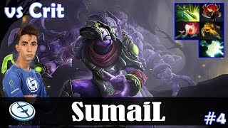 SumaiL - Faceless Void Safelane | vs Crit (Nature's Prophet) | Dota 2 Pro MMR Gameplay #4