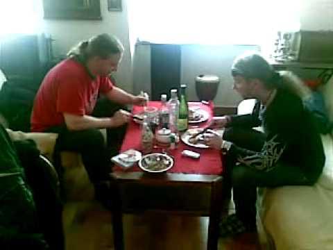 Mobil shot - czech black metal band Asgard - Zlovestny Knedlik:-)