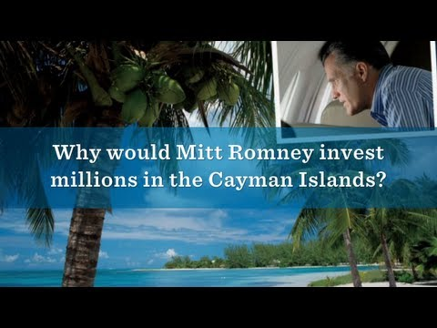 Why Would Mitt Romney Invest Millions in the Cayman Islands?