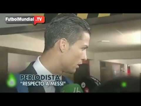 Cristiano Ronaldo is Angry By Being Asked For Messi | Real Madrid Vs Barcelona | La Liga 2014