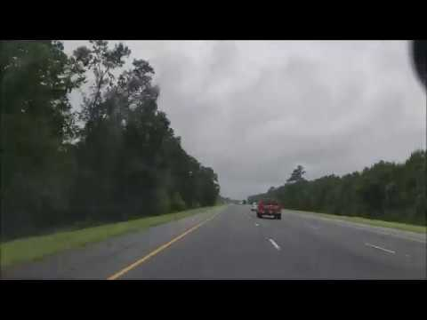 4K Driving From Georgia to Florida Timelapse on the i95 Intersate 95 Attraction Tube HD