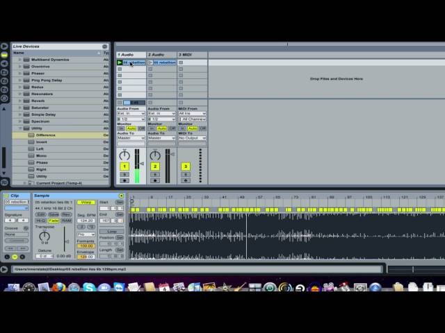 How to remove Vocals in Ableton