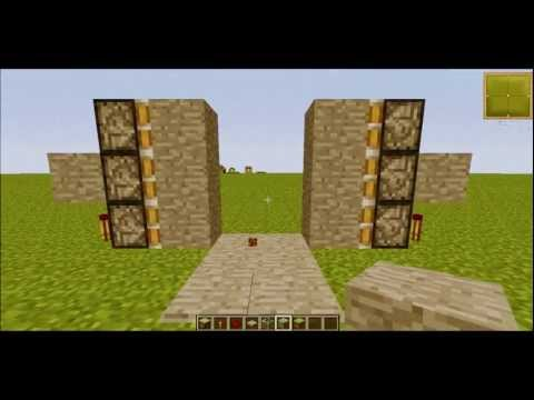 Jak Zrobić Ukryte Przejście Na (czujnik) Minecraft 1.5.1