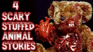 4 SPOOKY Stuffed Animal Stories