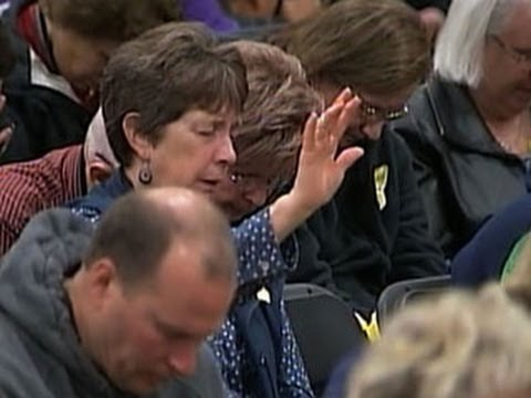 Service held for Washington mudslide victims