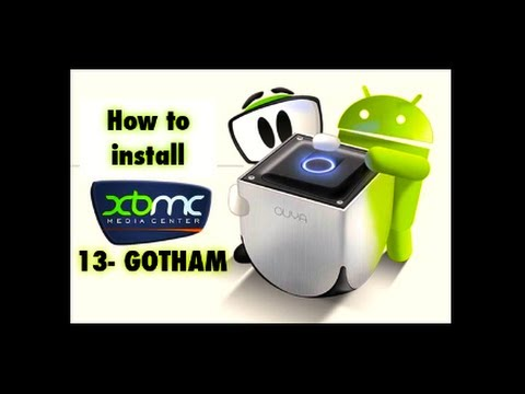 How to install XBMC-13 GOTHAM on the OUYA - - THIS IS THE NEWEST VERSION OF GOTHAM XBMC FOR OUYA - -
