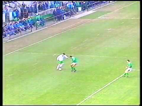 ROI 1 - 1 Northern Ireland - Iain Dowie's Goal