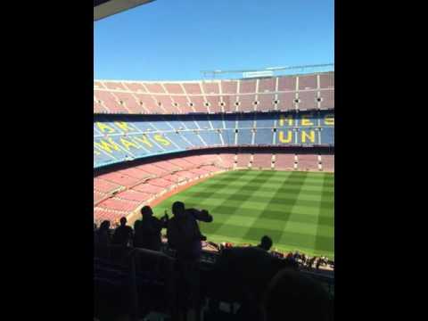 Camp Nou, the F