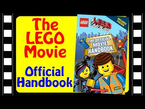 The LEGO Movie Official Movie Handbook by Scholastic Book Review