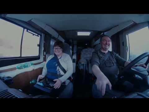 Mit dem Wohnmobil unterwegs - Unsere Wochenendtour nach der Messe, Offroad in Marisfeld