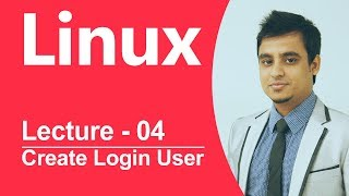 Linux Bangla Tutorial-04 : How to create log in User?