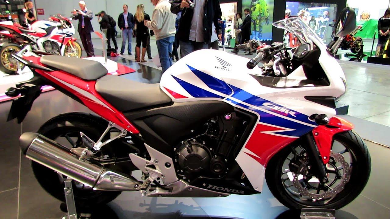 2014 Honda CBR500R Walkaround - 2013 EICMA Milan ...
