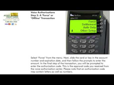 How to Accept Credit Cards: Verifone Vx510 Instructions & Processing Guide