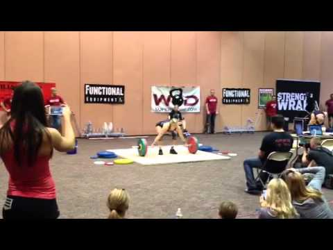 Lifting like Lindsay - Outlaw Open 2012