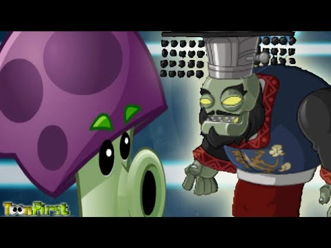 Plants Vs Zombies All Stars:Great Wall King Zombie. Final Boss Great Wall of China. - Part 10