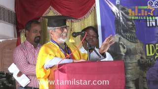 Doctorate To Director S. A. Chandrasekhar