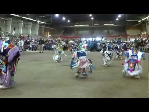 2012 Teen Boys Old Style Grass Special San Juan College Pow Wow video