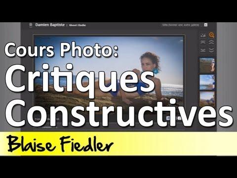 Cours Photo 6.02 - Critique Constructive de Photos - Episode 1
