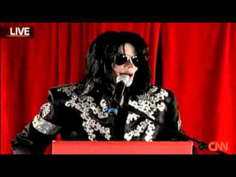 Michael Jackson O2 Arena Performances Announcement----