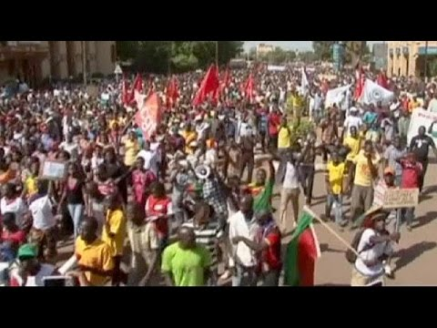 Thousands march in Burkina against presidents re-election bid...